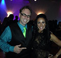 John Donovan with Danielle Staub of The Real Housewives of New Jersey