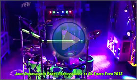 John Donovan The Party Percussionist Corporate Events Demo Video