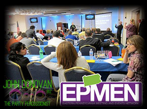 John Donovan performing at the 2011 EPMEN conference