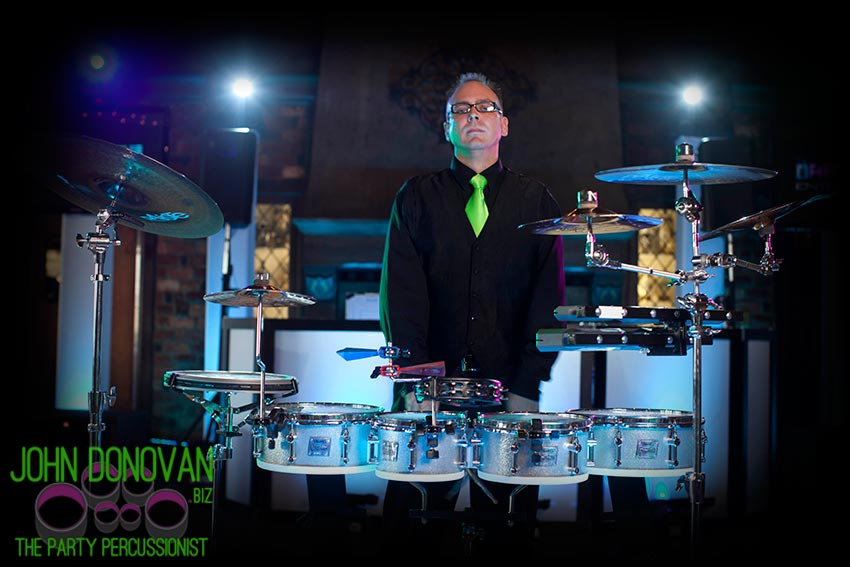 John Donovan is the perfect live entertainment upgrade for your wedding DJ or Band package