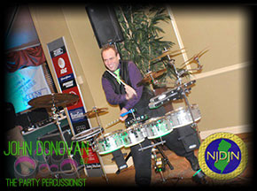 John Donovan performing at the 2012 NJDJN Expo