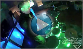 John Donovan The Party Percussionist Standard Package Demo Video